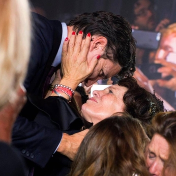 margaret's boy elected kiss